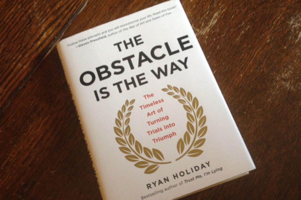 Obstacle is the way by Ryan Holiday – book review (stoic philosophy)